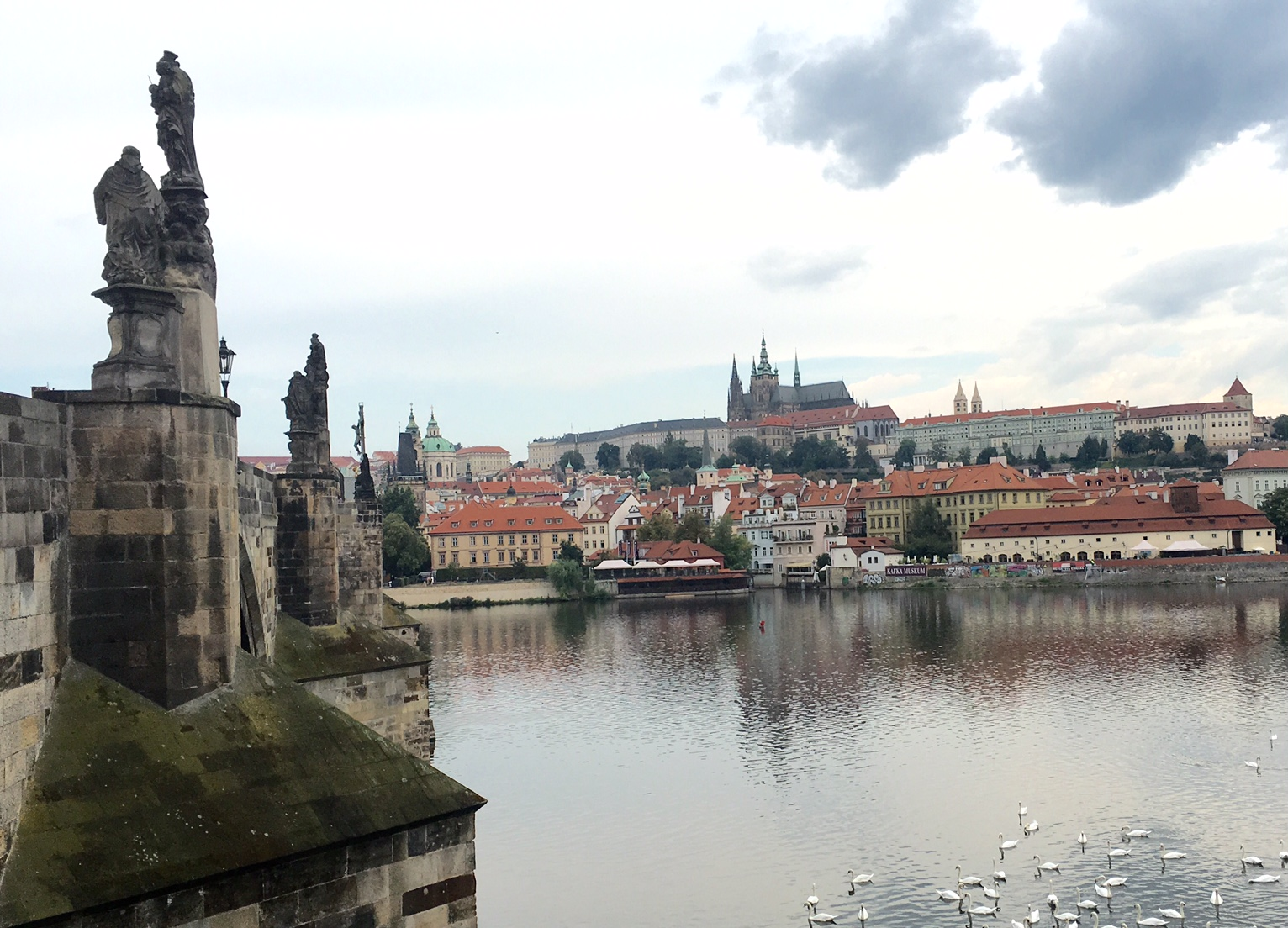 Prague Castle & St. Charles Bridge