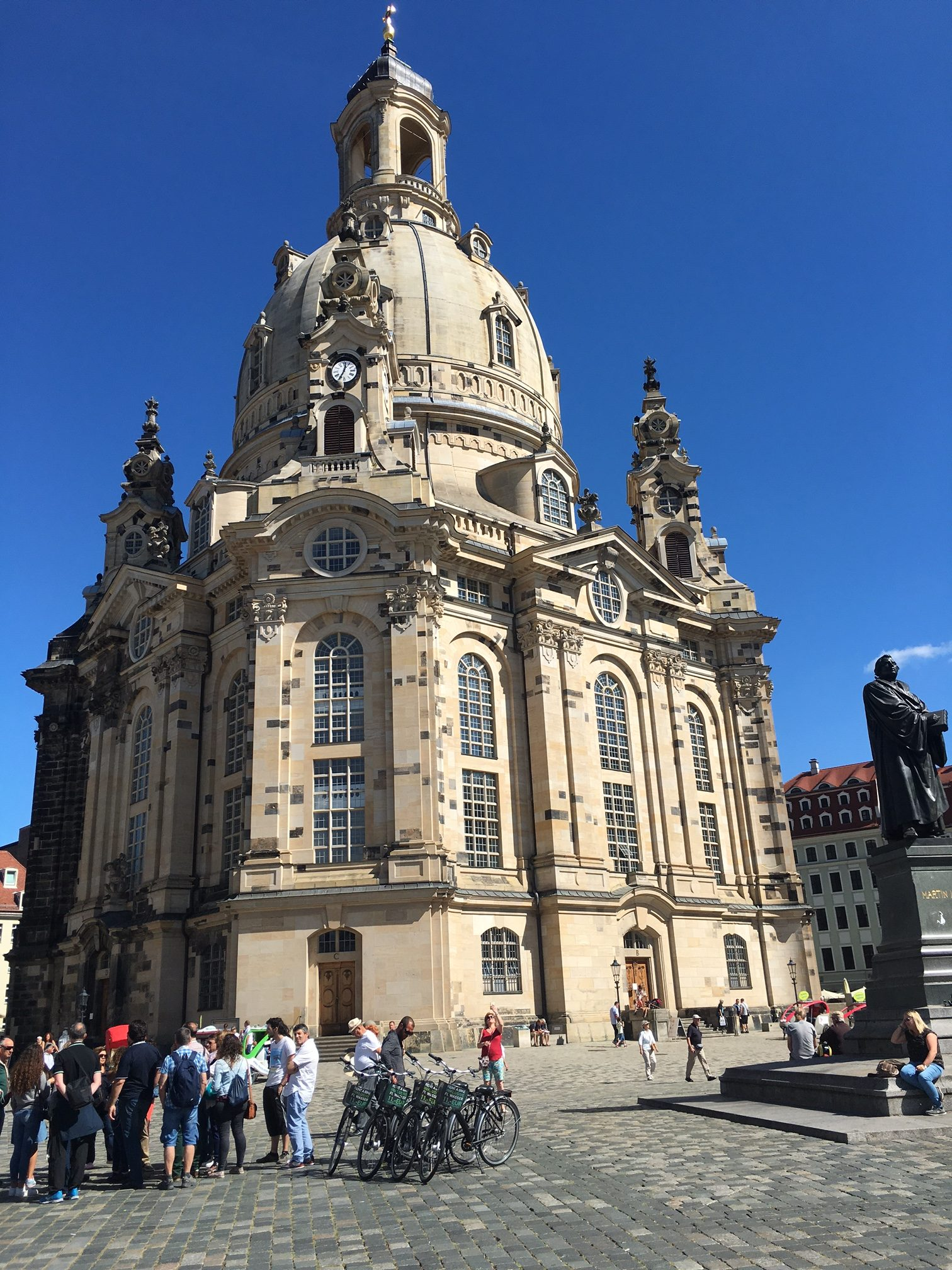 Frauenkirche, Church of our Lady, Dresden
