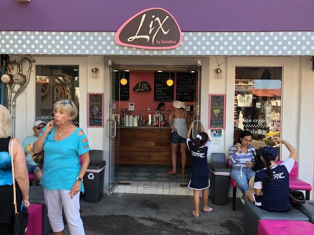 Lix, the ice cream place