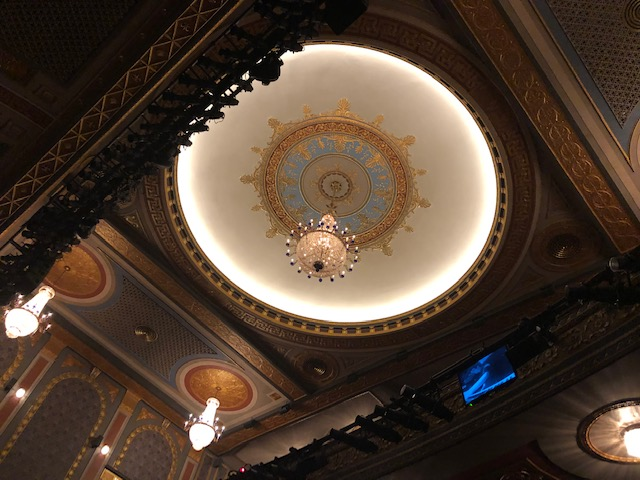 Ceiling of the Richard Rodgers Theater