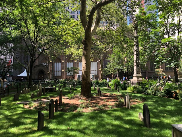 Graveyard at th Trinity Church