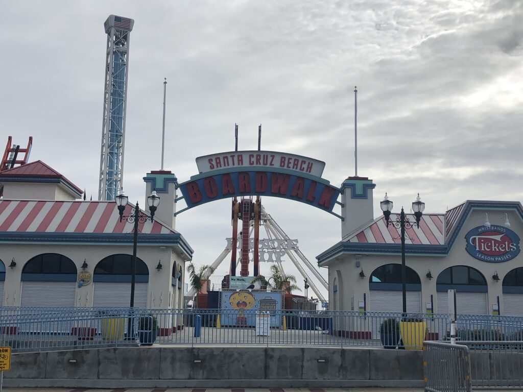 Photo of the Boardwalk main entrance