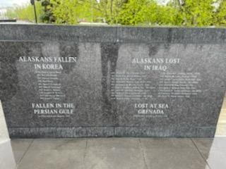 Names of people who died in Korea, Iraq, Persian Gulf and Grenada